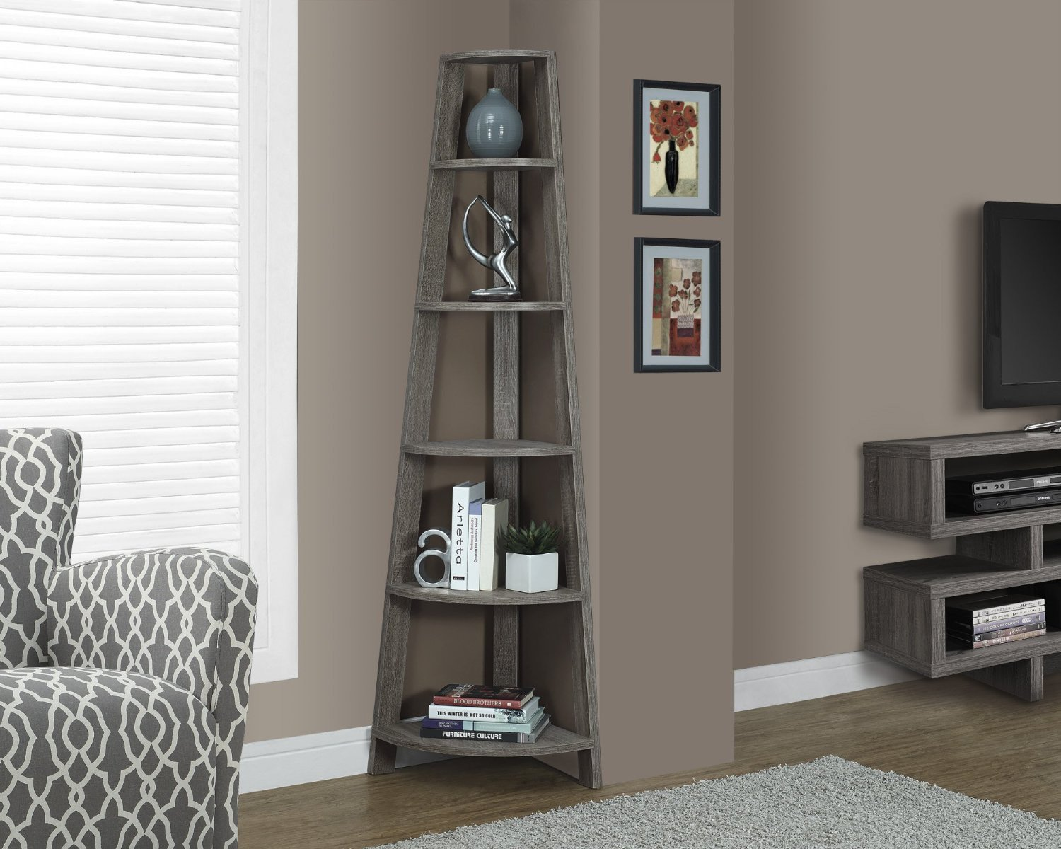 Living Room Ideas Shelves top 10 Corner Shelves for Living Room