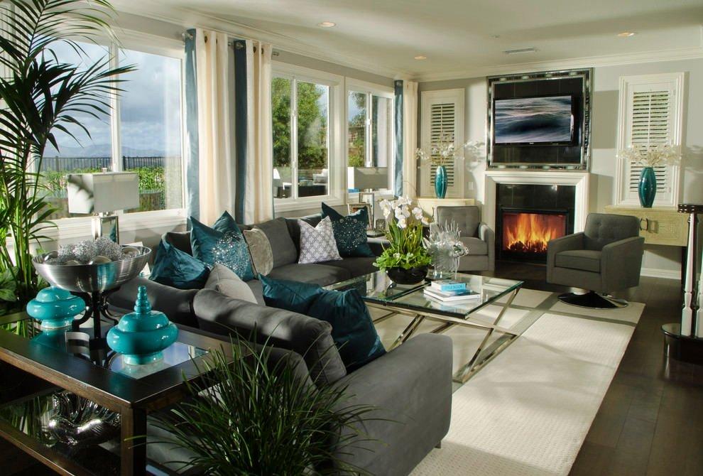 Living Room Ideas Teal 22 Teal Living Room Designs Decorating Ideas