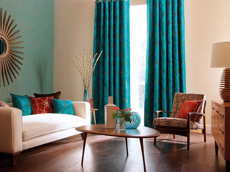 Living Room Ideas Teal Cool Teal Home Decor for Spring and Summer