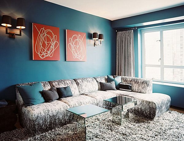 Living Room Ideas Teal From Navy to Aqua Summer Decor In Shades Of Blue