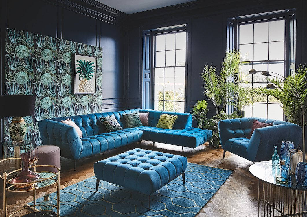 Living Room Ideas Teal Glam Gold and Teal Living Room Ideas Featured Image