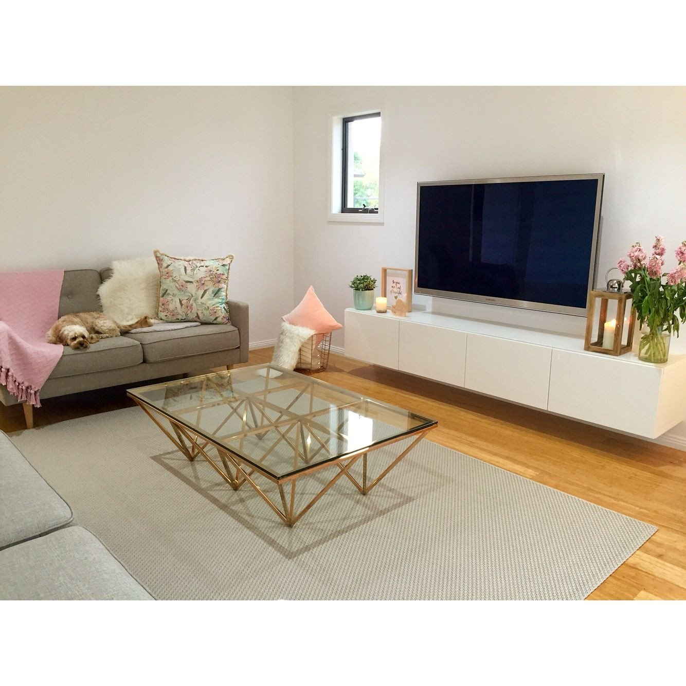 Living Room Ideas Tv Stand Contemporary Scandinavian Decor Copper Coffee Table