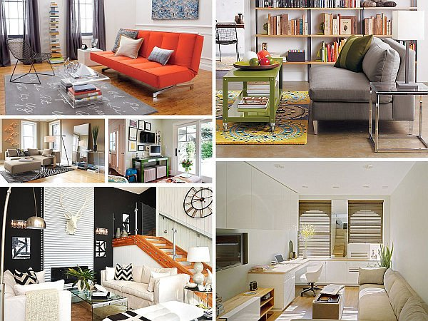 Living Room Ideasfor Small Spaces Space Saving Design Ideas for Small Living Rooms