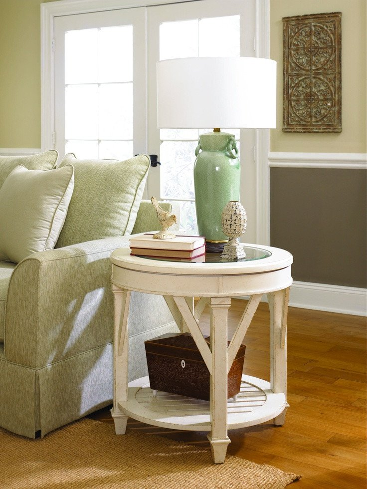 Living Room Side Table Decor 18 Best Images About Round End Tables On Pinterest