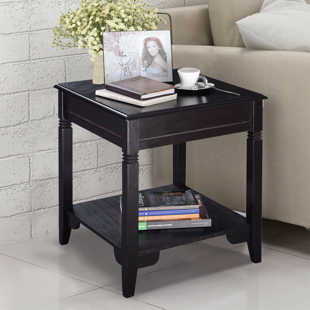 Living Room Side Table Decor Nolan End Table Durable Quality Furniture Shelf Decor Home