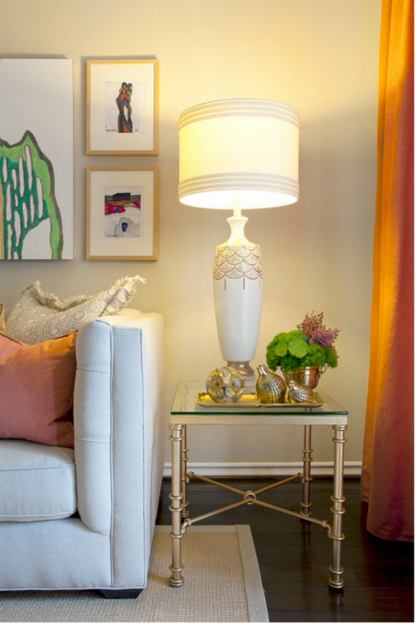 Living Room Side Table Decor Table Lamps for Small Living Rooms