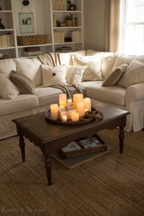 Living Room Table Decor Ideas Four Simple Ways to Style Your Coffee Table