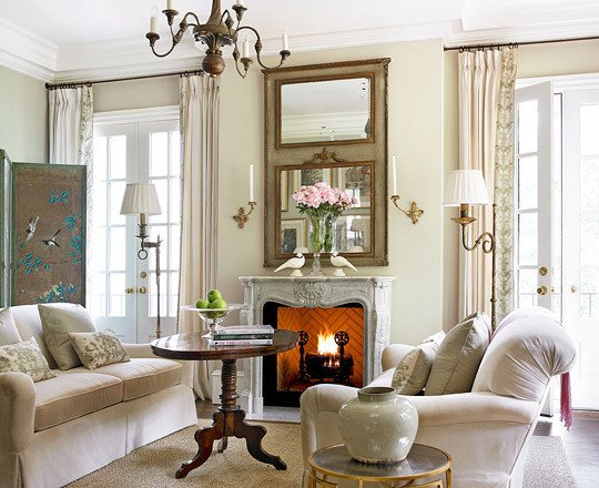 Living Room Traditional Home Decorating Ideas Elegant Living Rooms
