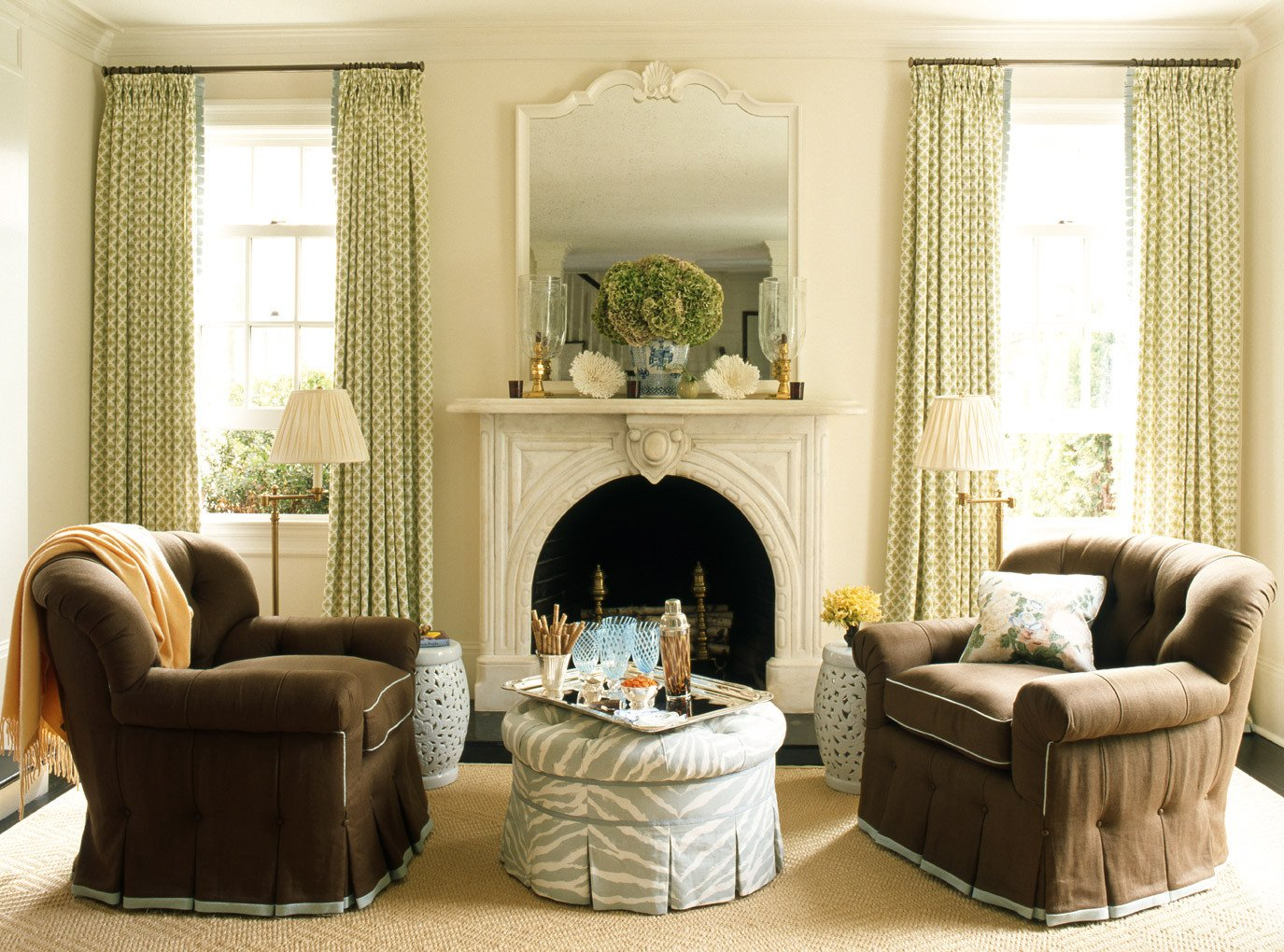 Living Room Traditional Home How to Decorate Series Finding Your Decorating Style
