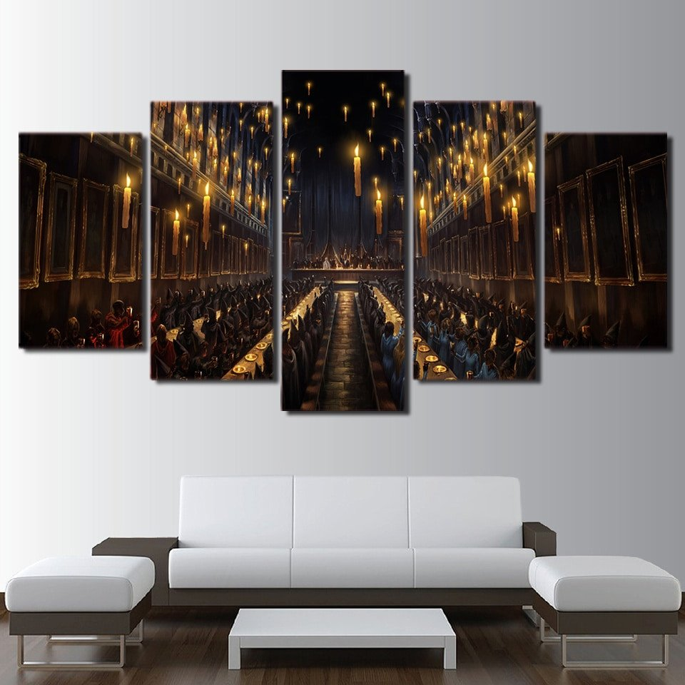 Living Room Wall Decor Pictures Modern Decor Magic Canvas Painting Print Frame Living Room