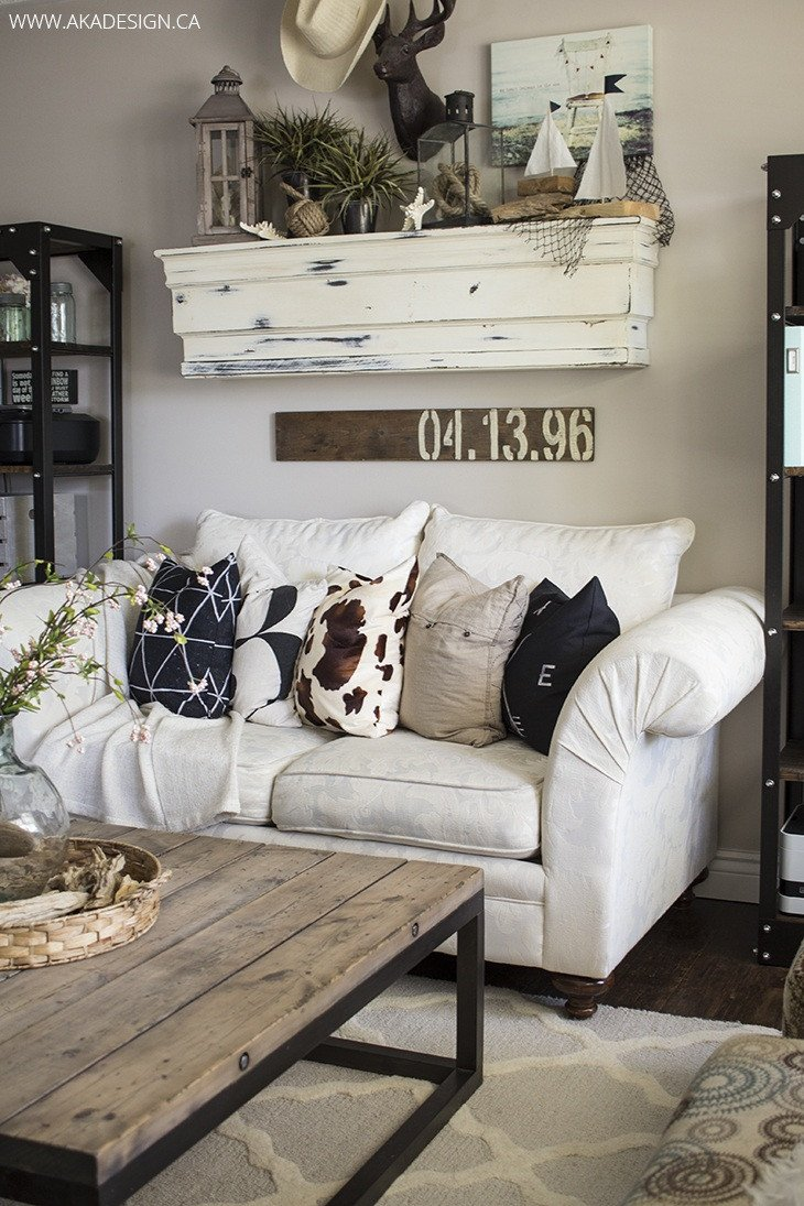 Living Room Wall Decorating Ideas 27 Rustic Farmhouse Living Room Decor Ideas for Your Home