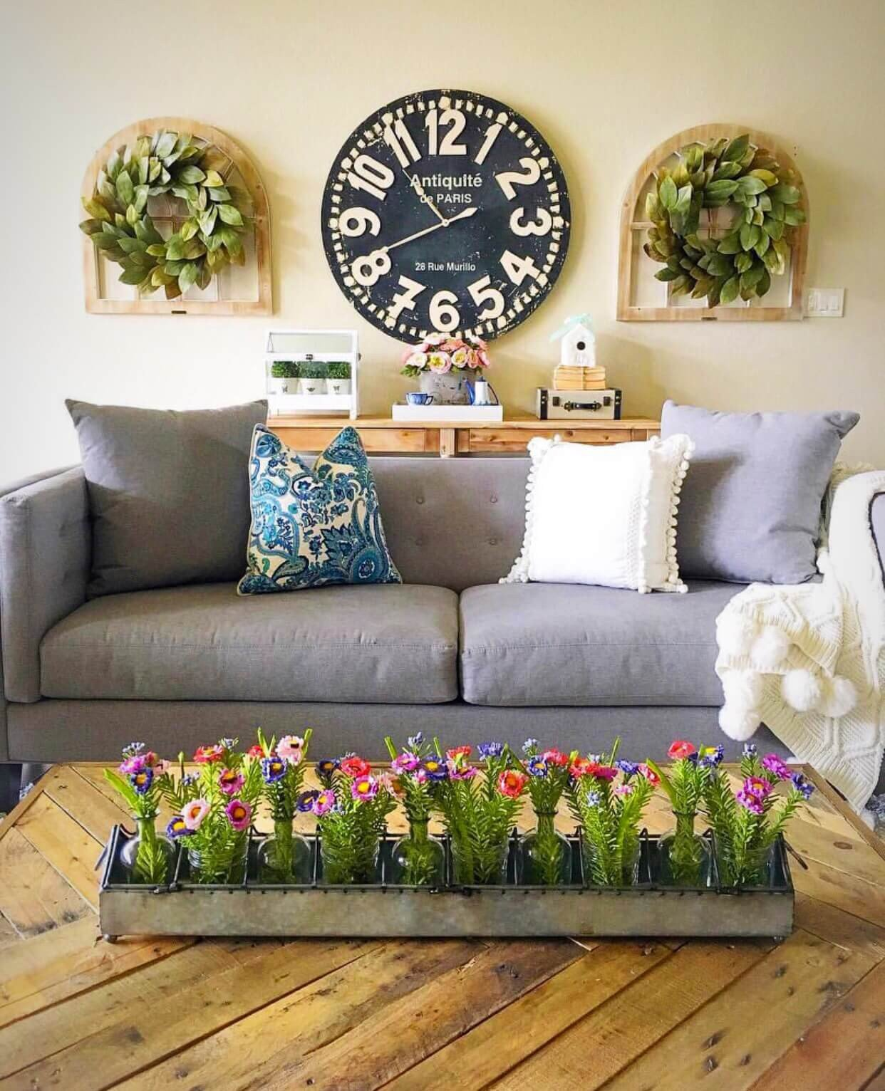 Living Room Wall Decorating Ideas 33 Best Rustic Living Room Wall Decor Ideas and Designs