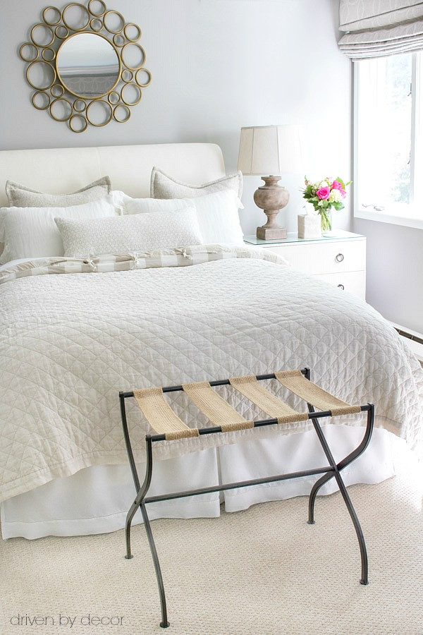 Luggage Rack for Bedroom Ten Essentials for A Guest Room Retreat