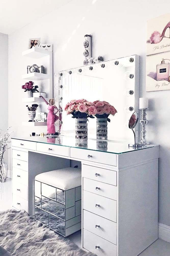 Make Up Vanity for Bedroom 42 Makeup Vanity Table Designs to Decorate Your Home