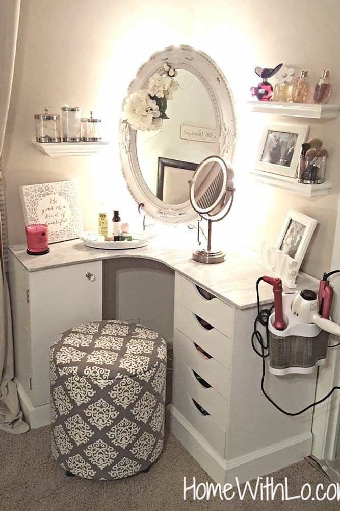 Make Up Vanity for Bedroom Makeup Vanity Table Ideas to assist Your Makeup Routine