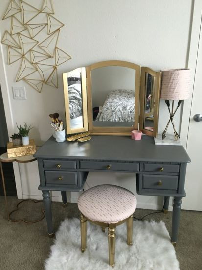 Make Up Vanity for Bedroom Pin On Diy Vanity Makeover