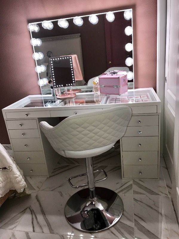 Make Up Vanity for Bedroom Slaystation 5 Drawer Makeup Vanity Storage Unit Pre order