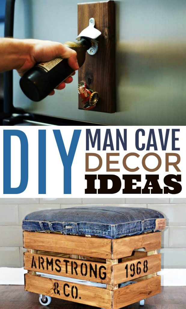 Man Cave Bedroom Ideas Diy Man Cave Decor Ideas A Little Craft In Your Day
