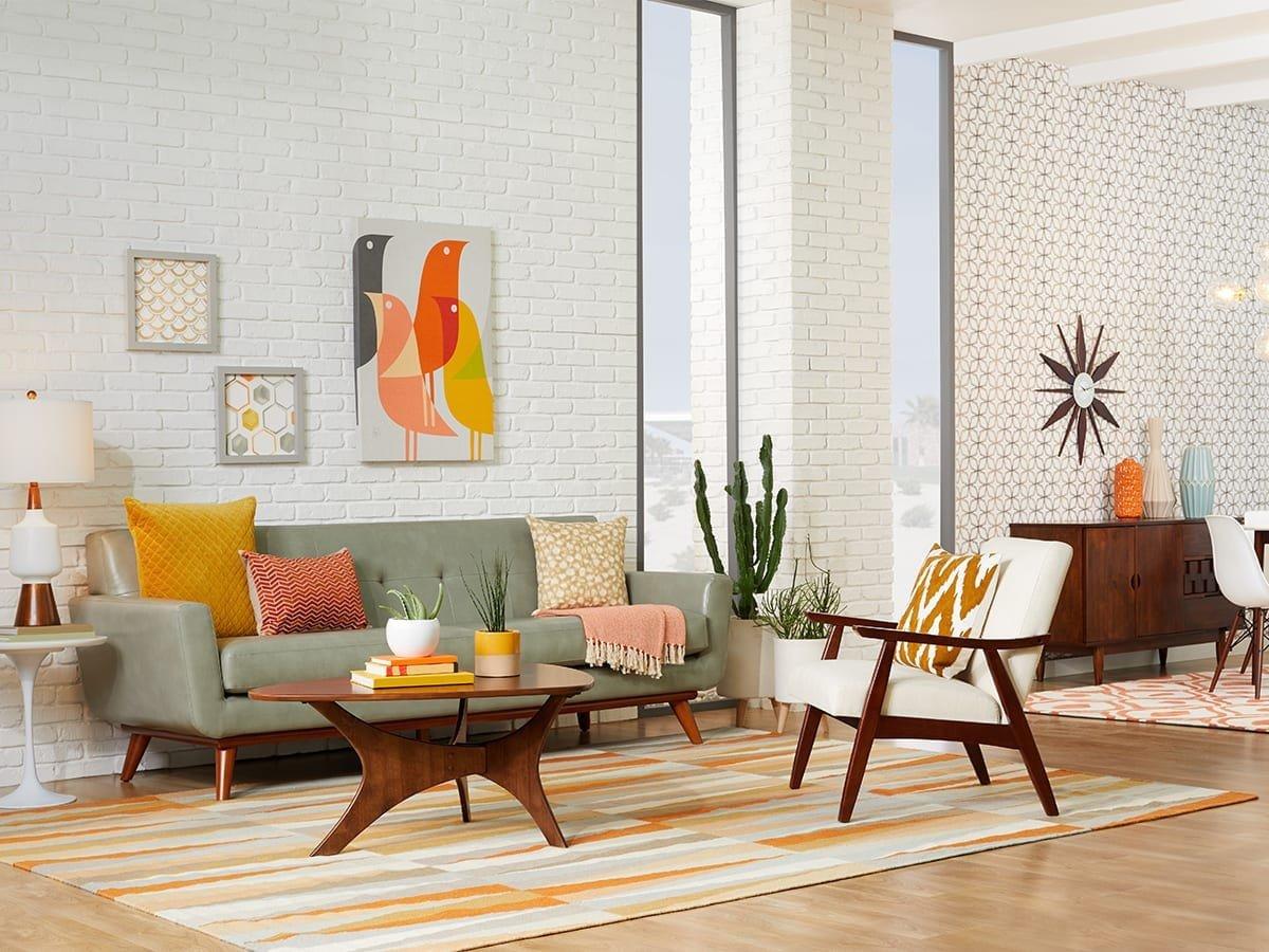 Mid Century Living Room Decor 20 Mid Century Modern Living Room Ideas