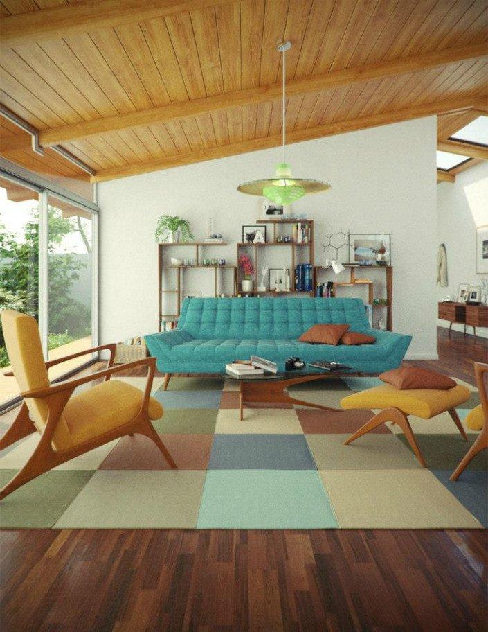 Mid Century Living Room Decor 25 Midcentury Living Room Design Ideas Decoration Love