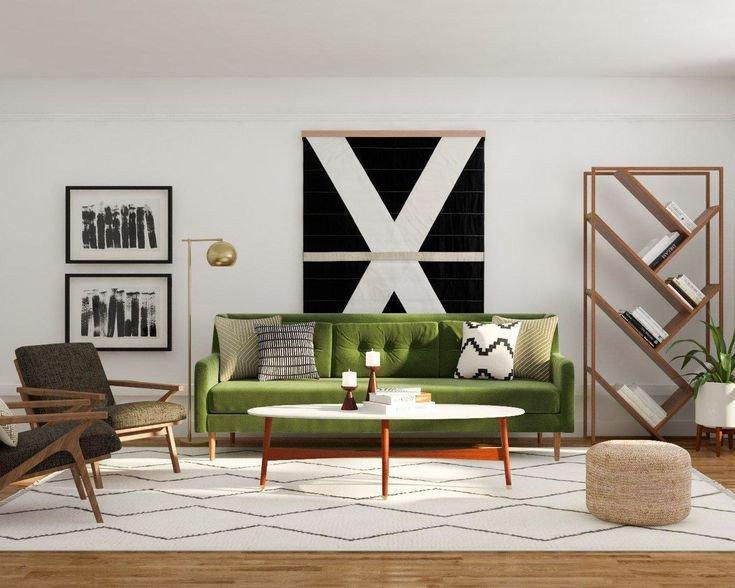 Mid Century Living Room Decor 49 Best Mid Century Modern Living Room Design Ideas Images