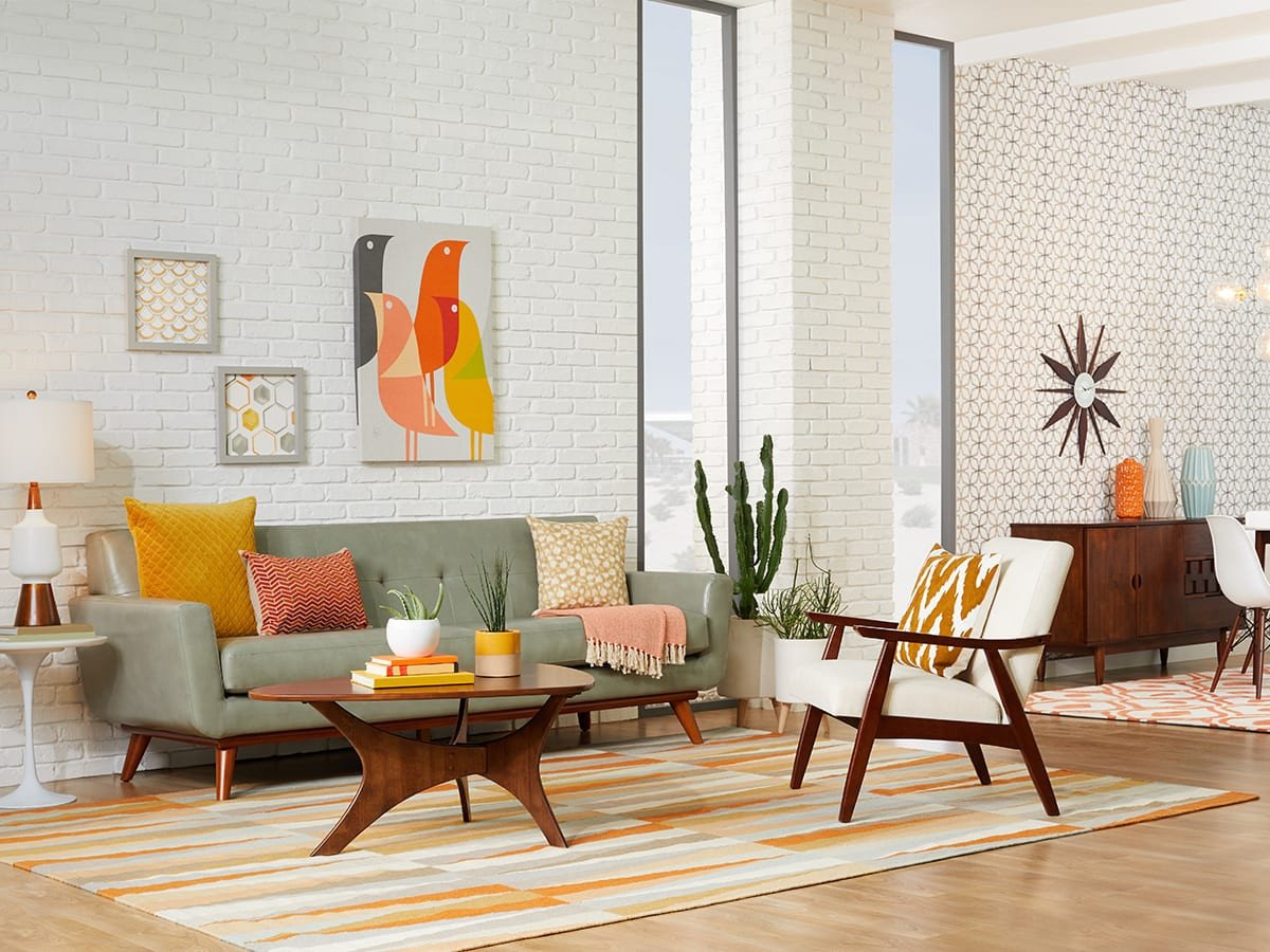 Mid Century Modern Living Room Decorating Ideas 20 Mid Century Modern Living Room Ideas