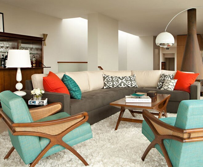 Mid Century Modern Living Room Decorating Ideas Mid Century Modern Style Decorating