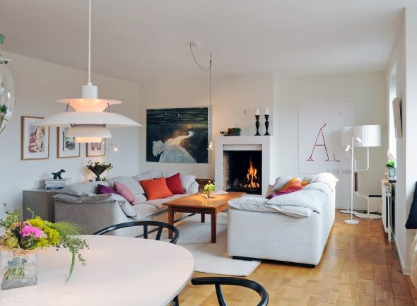 Minimalist Small Living Room Ideas Small and Minimalist Living Room Design In Sweden