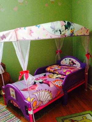 Minnie Mouse Bedroom Ideas Delta Children Disney Minnie Mouse Plastic toddler Canopy Bed Purple