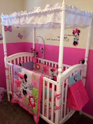 Minnie Mouse Bedroom Ideas Minnie Mouse Baby Girl Room Decor Bedroom 1843x2457