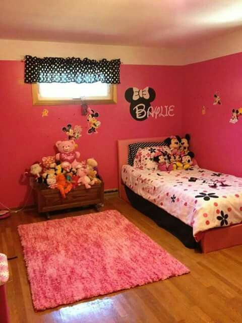 Minnie Mouse Bedroom Ideas Minnie Mouse Bedroom Idea