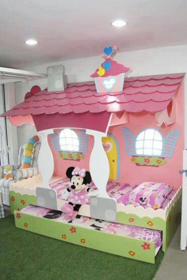 Minnie Mouse Bedroom Ideas Minnie Mouse Trundle Bed