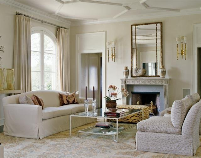 Mirrors Contemporary Living Room 15 Modern and Elegant French Living Room Designs