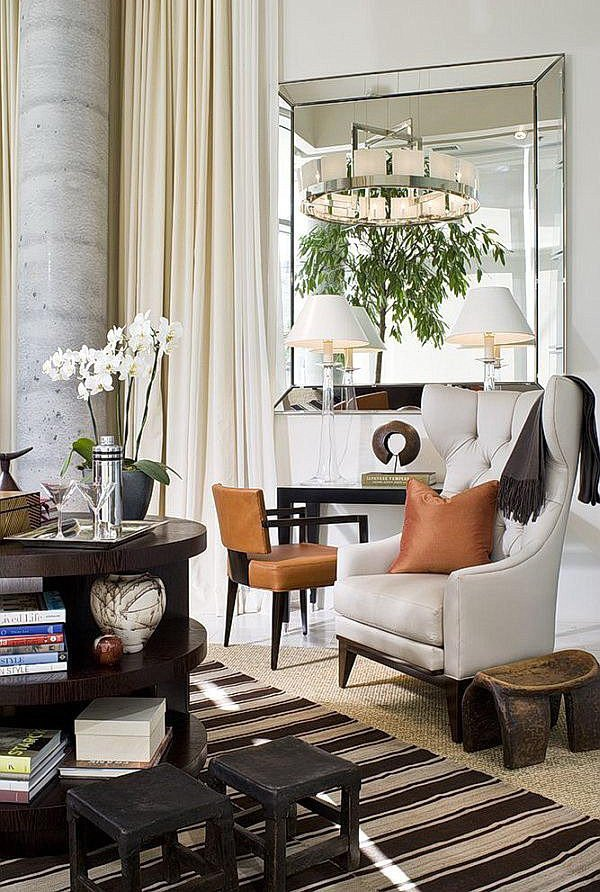 Mirrors Contemporary Living Room some Living Room Wall Decor Mirrors Ideas 21 Photo
