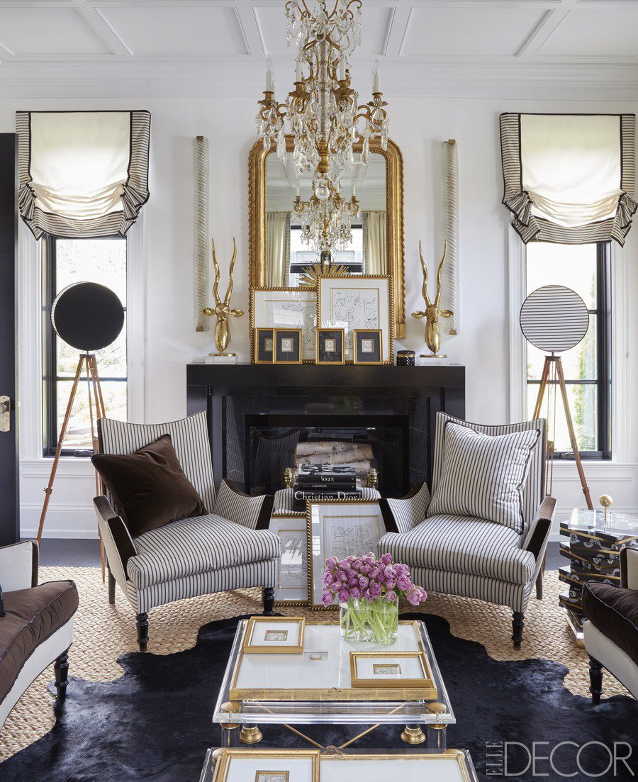Mirrors Contemporary Living Room top 10 Most Gorgeous Living Spaces Featuring Stunning