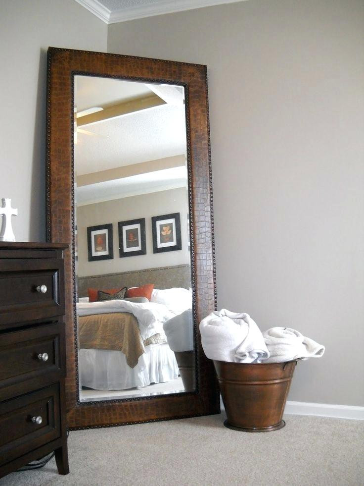 Mirrors for Bedroom Walls Decorative Mirrors Bedroom Wall Leaning Mirror In Corner