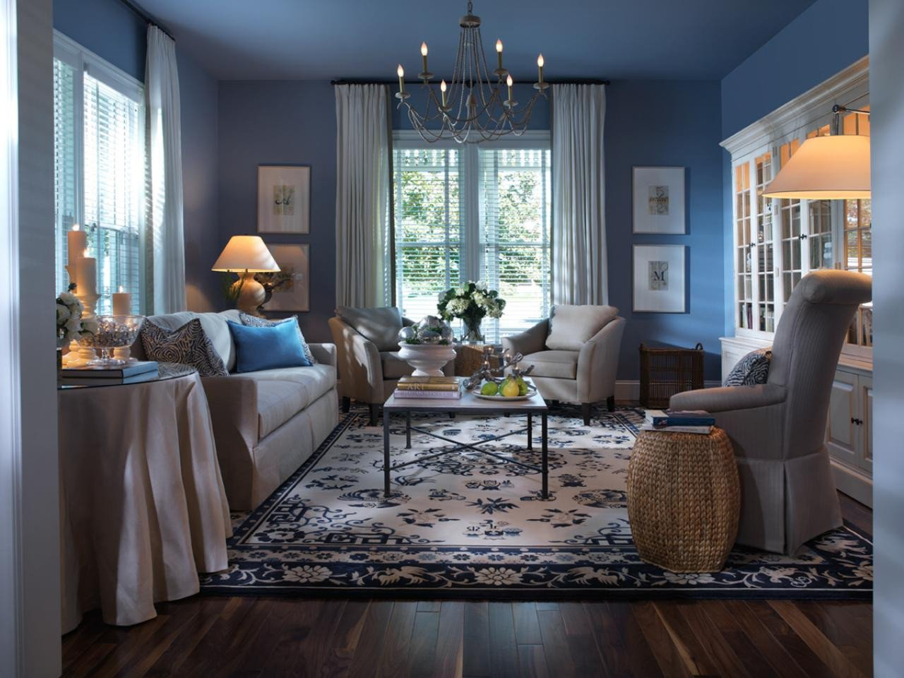 Modern Blue Living Room Decorating Ideas All In the Details Change Your Furniture Personality with
