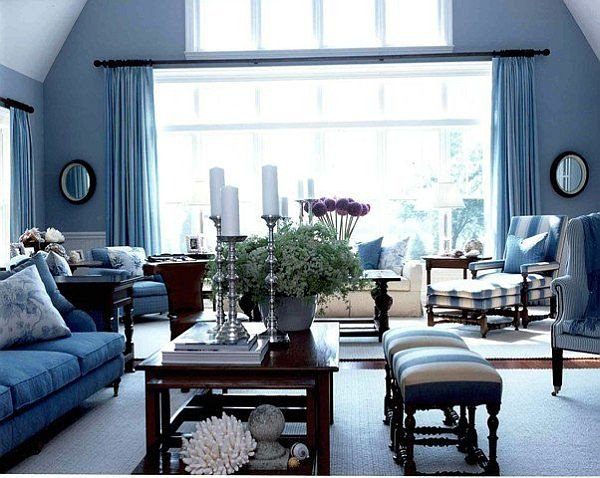 Modern Blue Living Room Decorating Ideas Blue Modern Living Room Home Decorating Ideas
