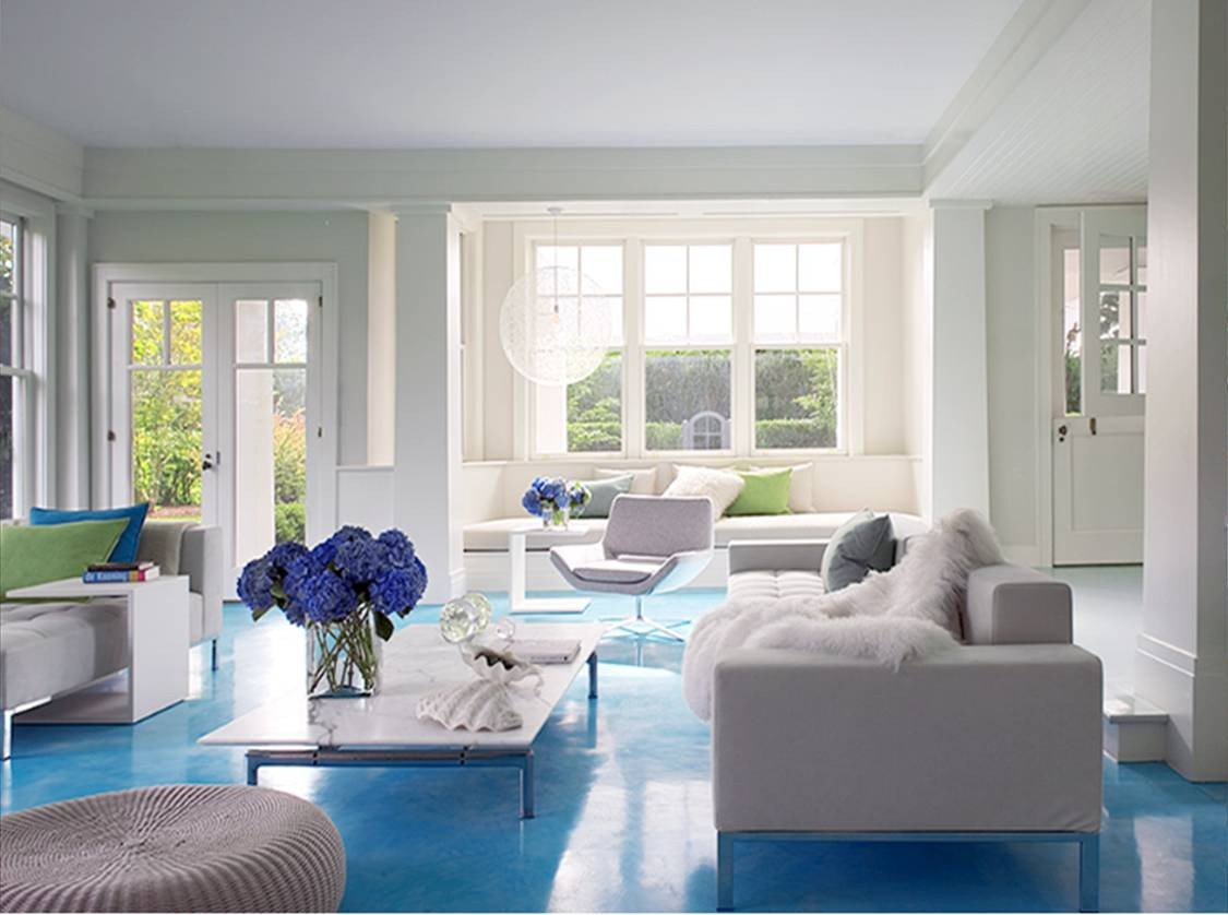Modern Blue Living Room Decorating Ideas Seaseight Design Blog Reader Request Light Blue Floor