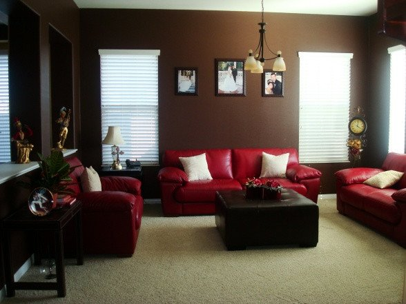 Modern Brown Living Room Decorating Ideas 34 Red and Brown Living Room Ideas Red and Brown Living