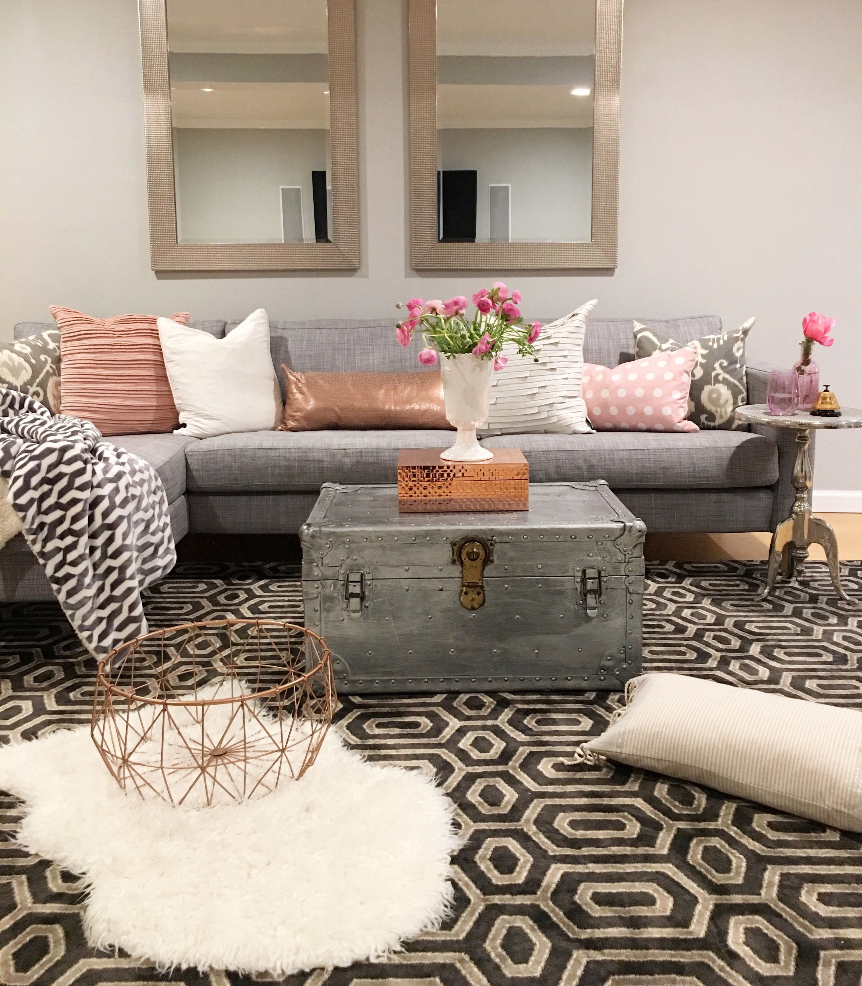 Modern Chic Living Room Decorating Ideas Crazy Chic Design Modern Boho Basement