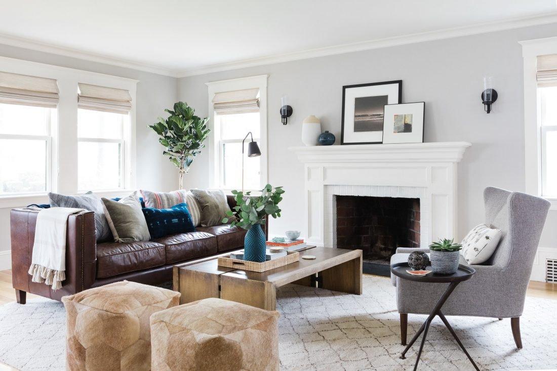 Modern Chic Living Room Decorating Ideas Room Redo