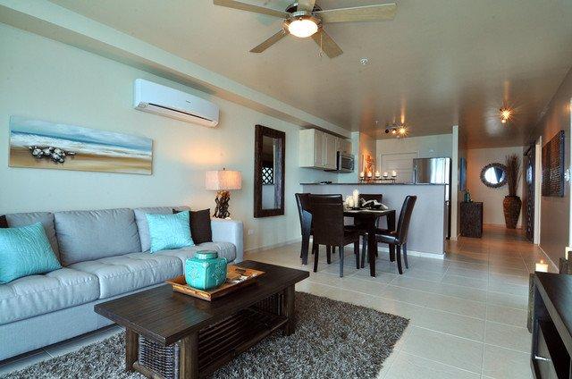 Modern Condo Living Room Decorating Ideas Beachfront Condo Design Tropical Living Room Other
