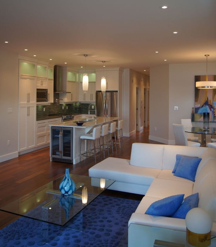 Modern Condo Living Room Decorating Ideas Lakeshore Condo Living Room Design by Giroux Design Group