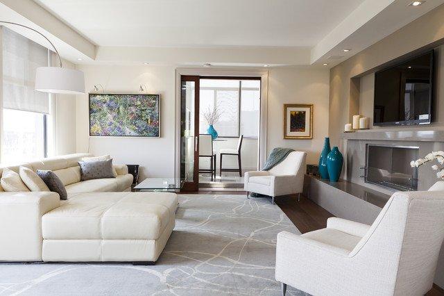 Modern Condo Living Room Decorating Ideas Luxurious Condo Living Room Contemporary Living Room