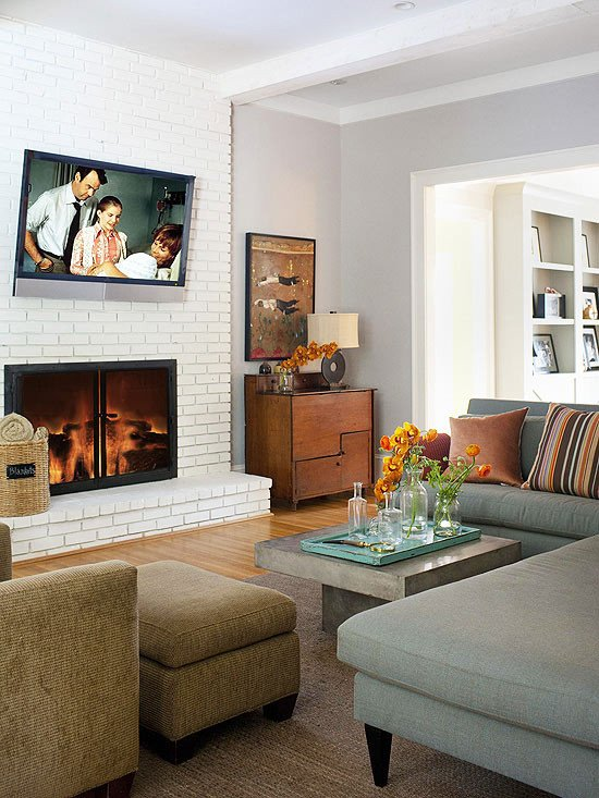 2013 modern living room decorating