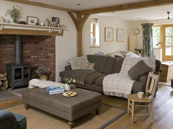 Modern Cottage Living Room Decorating Ideas Country Cottage Living Room Inglenook Fireplace