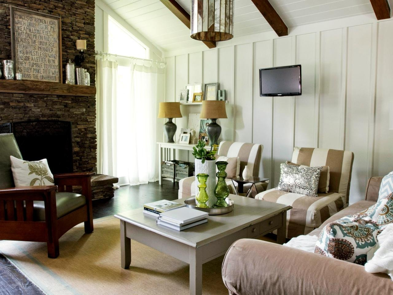 Modern Cottage Living Room Decorating Ideas Rustic Cottage Living Room Milk and Honey Home