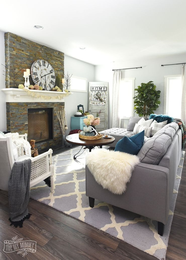 Modern Country Decor Living Room My Home Style before and after Modern Boho Country Living