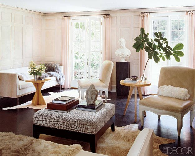 Modern Country Decor Living Room Use Fur In Home Decor – theinterioz